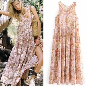 Dresses & Skirts - Jungle Maxi DRESS Sundress Gypsy Boho Cream NEW